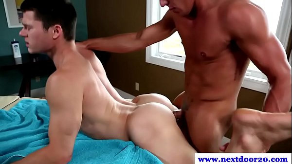 pissing Pounded tattoo gay